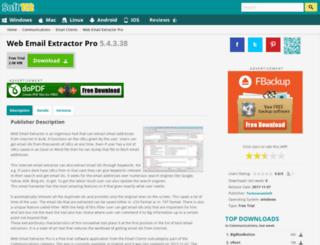 web-email-extractor-pro.soft112.com screenshot