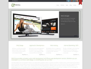 web-envy.com screenshot