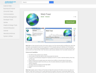 web-freer.joydownload.com screenshot