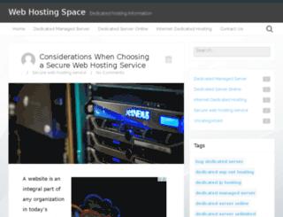 web-hosting-space.net screenshot