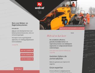 web-id.nl screenshot