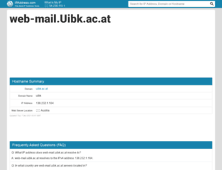 web-mail.uibk.ac.at.ipaddress.com screenshot