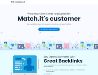 web-marketer.it screenshot