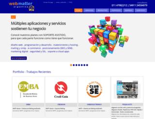 web-matter.com.ar screenshot