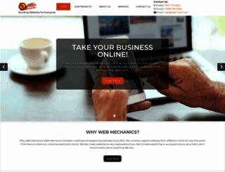 web-mech.net screenshot