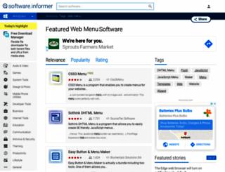 web-menu.software.informer.com screenshot
