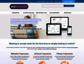 web-merchant.co.uk screenshot