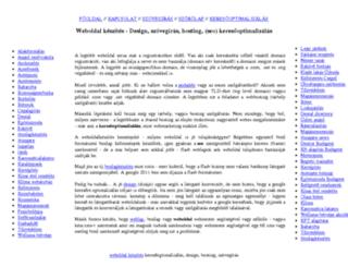 web-oldal.com screenshot