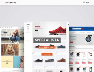 web-plus.cz screenshot