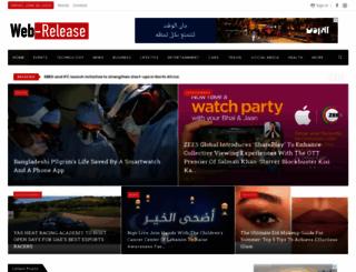 web-release.info screenshot
