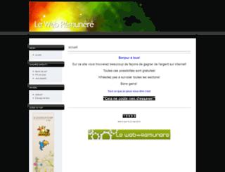 web-remunere.wikeo.be screenshot