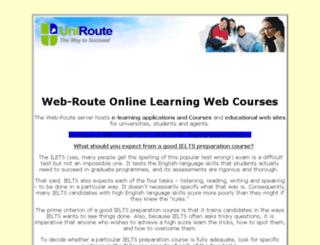 web-route.com screenshot