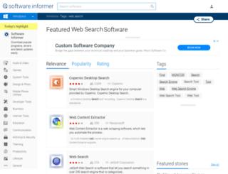web-search.software.informer.com screenshot