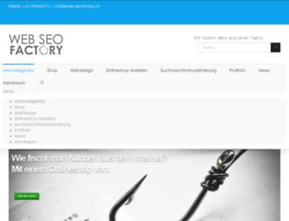 web-seo-factory.ch screenshot