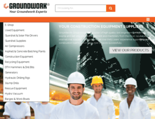 web-site--www.groundworkexperts.com screenshot