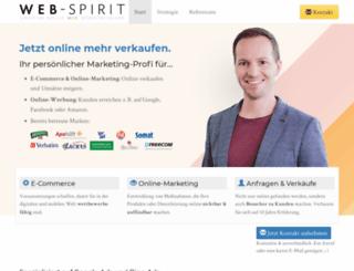 web-spirit.de screenshot