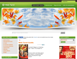web-tarot.com screenshot