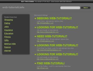web-tutoriali.info screenshot