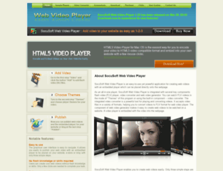 web-video-player.com screenshot