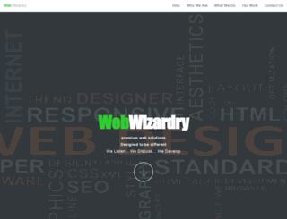 web-wizardry.co.uk screenshot