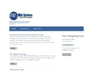 web.alumnionline.org screenshot