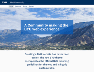 web.byu.edu screenshot