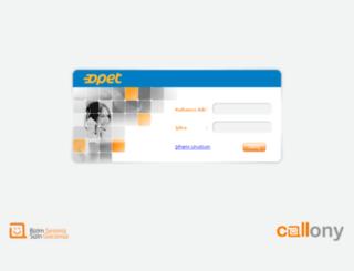 web.callus.com.tr screenshot