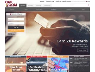 web.capcomfcu.org screenshot