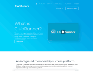 web.clubrunner.ca screenshot