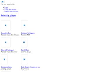 web.coolrom.com screenshot
