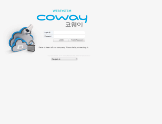 web.coway.com.my screenshot