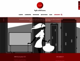 web.cvukgroup.com screenshot
