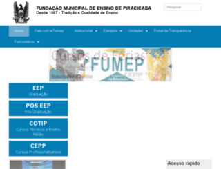 web.eep.br screenshot