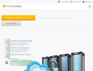 web.einser.pl screenshot