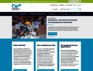 web.emn.fr screenshot