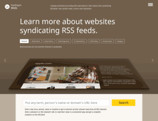 web.feeddigest.com screenshot