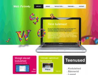 web.feim4u.ee screenshot