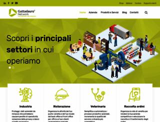web.guttadauro.it screenshot