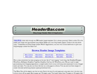 web.headerbar.com screenshot