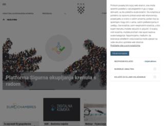 web.hgk.hr screenshot
