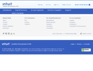 web.intuit.com screenshot