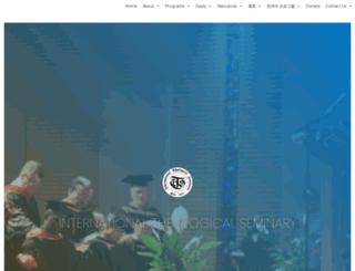 web.itsla.edu screenshot