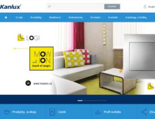 web.kanlux.cz screenshot