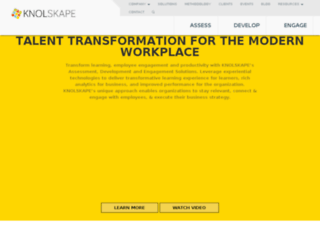 web.knolskape.com screenshot