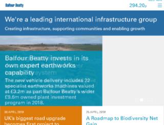 web.mail.balfourbeatty.co.uk screenshot