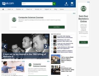 web.mail.com screenshot