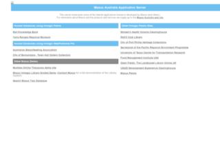 web.maxus.net.au screenshot