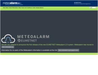 web.meteoalarm.eu screenshot