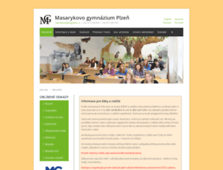web.mgplzen.cz screenshot