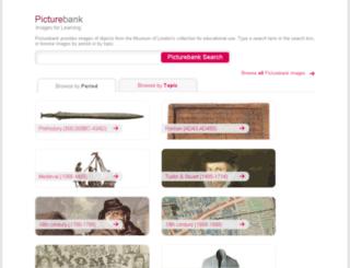 web.museumoflondon.org.uk screenshot